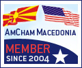 Member of the American Macedonian Chamber of Commerce since 2004